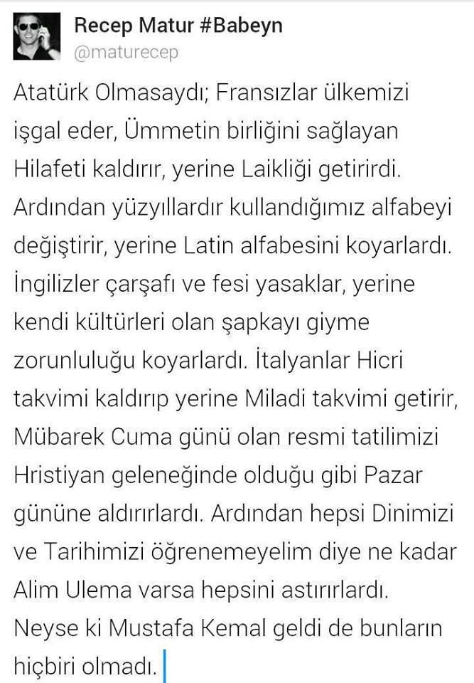 Kamal Atatürk Hakkinda Duyulmamiş Gerçekler